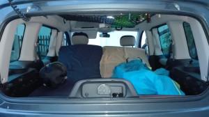 voiture aménagée camping car