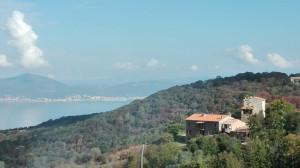 Vue de la Baie d'Ajaccio